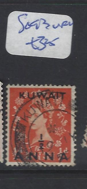 KUWAIT  (P2409B)  QEII ON GB   1/2A/ 1/2D  SG 93    VFU