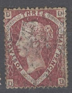 COLLECTION LOT OF # 1907 GREAT BRITAIN #32 1870 CV=$65