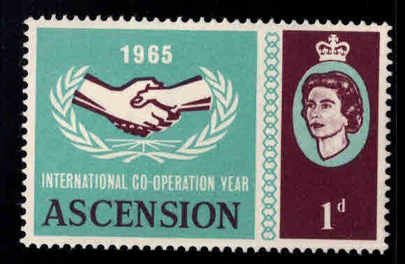 ASCENSION  Scott 94 MNH** Cooperation stamp