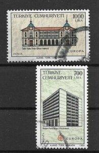 (K00) Turkey / 1990, EUROPA COMPLETE SET, USED