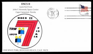 1979 DSCSII LAUNCHED FROM KENNEDY SPACE CENTER, FL - U.S. #1597 (ESP#3910)