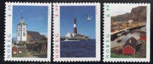 Norway Scott 1155-1157 MNH**  Tourism set