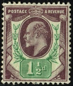 Great Britain #129 (1902) MNH*