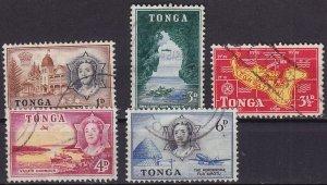 TONGA [1953] MiNr 0100 ex ( O/used ) [01]