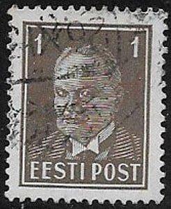 Estonia, sc 117, used