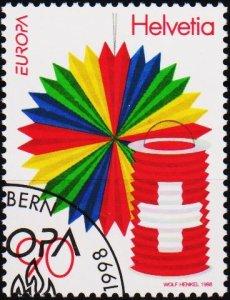 Switzerland. 1998 90c. S.G.1395  Fine Used