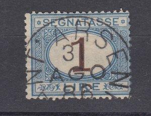 J28501, 1870-1925 italy used  #j13 postage due