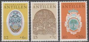 Netherlands Antilles #B134-6    MNH  (S5872)
