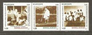 2011   BANGLADESH  -  SG. 1049 / 1051  -  INDIPEX PHILATELIC EXHIBITION-   UMM