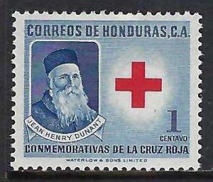 Honduras RA5 MOG RED CROSS I927-1
