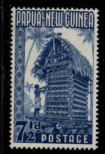 Papua New Guinea 129 1952 7 1/2d Kirwina Yam House stamp mint NH