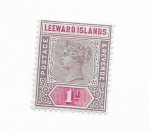 Leeward Islands #2 MH - Stamp - CAT VALUE $7.50