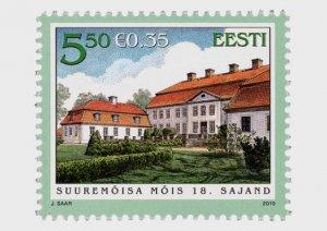2010 Estonia Hiiu Suuremoisa Manor Hall (Scott 648) MNH