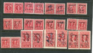 Misc BOB R315 and higher pairs 24 stamps total⭐⭐⭐⭐⭐⭐