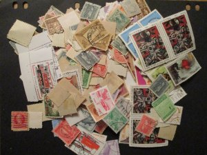 Cuba Small Box Lot of Postage Stamps all off Paper Unchecked or researched