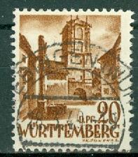 Germany - French Occupation - Wurttemberg - Scott 8N21