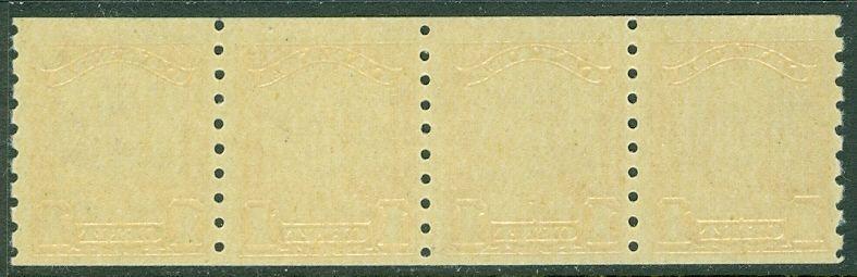 EDW1949SELL : CANADA 1929 Unitrade #160 Strip of 4. Very Fine, MNH. Cat $480.00.