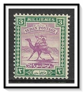 Sudan #31 Camel Post MH