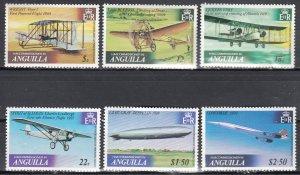 Anguilla, Sc 355-360, MNH, 1979, Aircraft/Aviation
