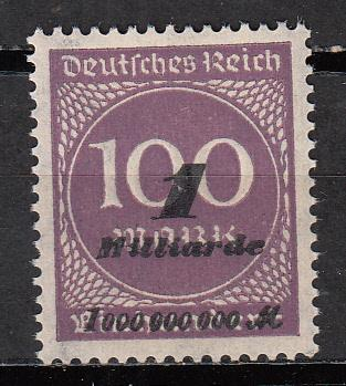 Germany - Inflation 1Mrd on 100M Mi# 321 - MNH  (5500)