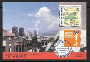 CAYMAN ISLANDS SGMS840 1997 HONG KONG 97 MNH