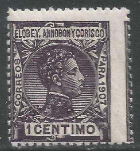 ELOBEY, ANNOBON Y CORISCO 39 MNH Q115