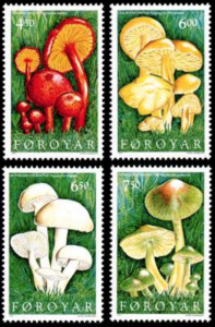 STAMP STATION PERTH Faroe Islands #315-318 Fa311-314 MNH CV$6.30
