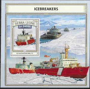 Sierra Leone MNH S/S Icebreaker Ship