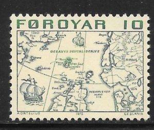 Faroe Islands Mint Never Hinged  [11006]