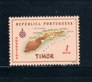 Timor 280 MLH Map of Timor (T0039)+