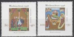 Germany #B807-8  MNH  CV $2.75 (S1860)