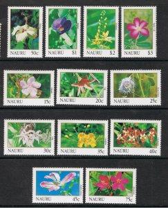 NAURU 1991 FLOWERS