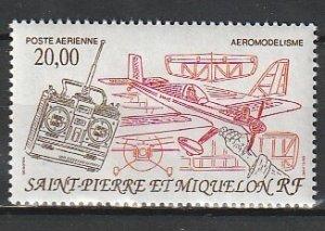 1992 St. Pierre and Miquelon - Sc C68 - MNH VF - 1 single - Radio-controlled