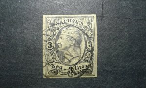 Germany-Saxony #12 used e205 9544