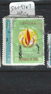 IRAQ   (P1206B)  OFFICIAL  UN  HR  SG O976-7   VFU