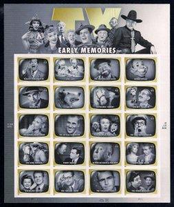 PCBstamps  US #4414 Sheet $8.80(20x44c)Early TV Memories, MNH, (6)