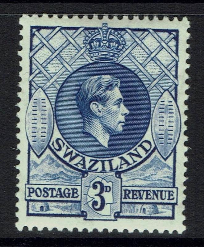 Swaziland SG# 32  - Perf 13 x 13.5 - Mint Lightly Hinged - 090415
