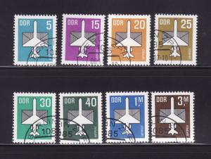 Germany DDR C8-C15 U Planes