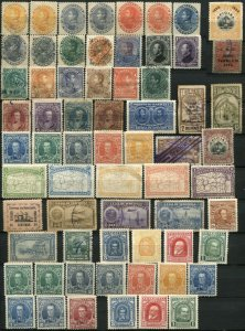 Early VENEZUELA Postage Latin America Stamp Collection CORREOS Used MINT LH