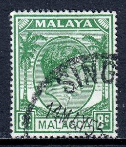 Malaya (Malacca) - Scott #23 - Used - SCV $5.25