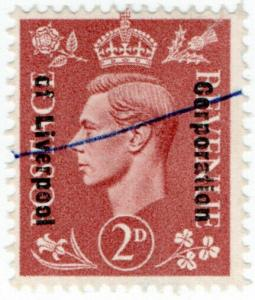 (I.B) George VI Commercial Overprint : Corporation of Liverpool