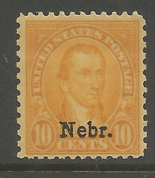 UNITED STATES  679  MINT HINGED,  1929 ISSUE OVERPRINTED IN BLACK