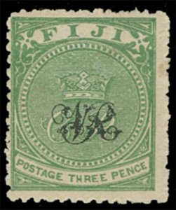 Fiji Scott 34 Variety Gibbons 29a Mint Stamp