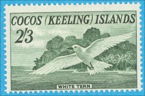 COCOS (KEELING) ISLANDS 6 MINT LIGHTLY HINGED NO FAULTS EXTRA FINE