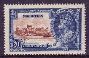 Mauritius - Scott #206 - MH - Gum toning - SCV $6.50