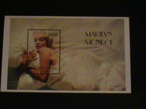 COLORFUL MARILYN MONROE STAMP SHEET #M2