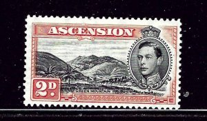 Ascension 43b MNH 1938 issue perf 13«