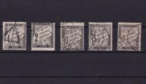 EARLY FRANCE POSTAGE DUE  STAMPS  R 3348