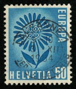 1954, Switzerland 50 Helvetia (T-5295)