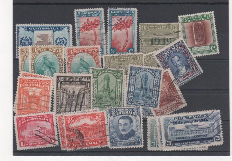 GUATEMALA STAMPS SHOW DEALER CLOSEOUT LOT 753 0917